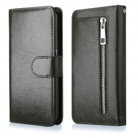 Funda Movil HT Wallet Zipper Black para iPhone 6