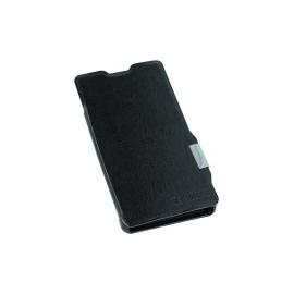 Funda Movil HT Flip Case Black para Sony Xperia Z1 Compact