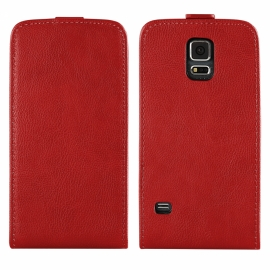 Funda Movil HT Vertical Exclusive red para Samsung Galaxy S5 G900