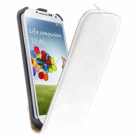 Funda Movil HT Vertical Exclusive White para Samsung Galaxy S5 G900