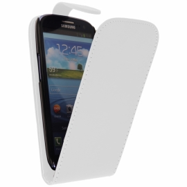 Funda Movil HT Vertical FIT White para Galaxy S3 I9300