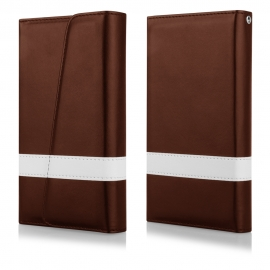 Funda Movil HT Wallet Wings Brown para iPhone 5/5S