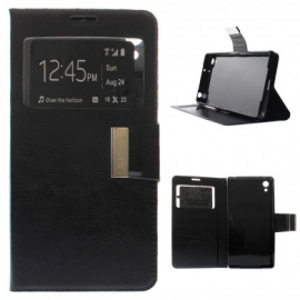 Funda Movil HT Window Black para Sony Xperia Z2