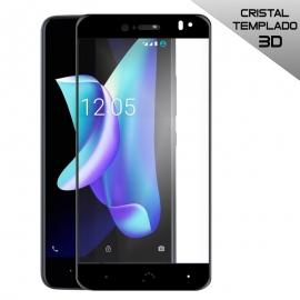 Protector de Pantalla HT Cristal Templado 3D Black para Bq Aquaris U2/U2 Lite / V/VS