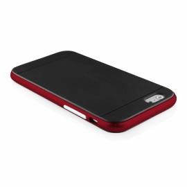 Funda Movil Back Cover HT Bumper Hybrid Black/Red para iPhone 6