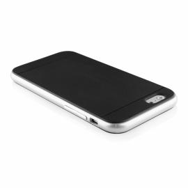Funda Movil Back Cover HT Bumper Hybrid Black/Silver para iPhone 6