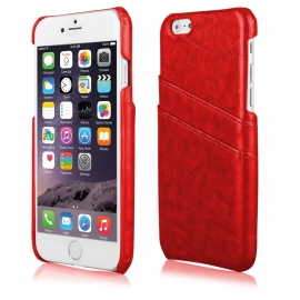 Funda Movil Back Cover HT Business red para iPhone 6