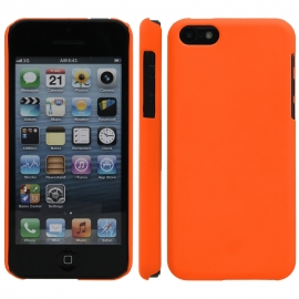 Funda Movil Back Cover HT Coby Orange para iPhone 5C