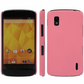 Funda Movil Back Cover HT Coby Pink para LG Nexus 4 E960