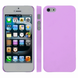 Funda Movil Back Cover HT Coby Purple para iPhone 5C