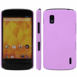 Funda Movil Back Cover HT Coby Violet para LG Nexus 4 E960