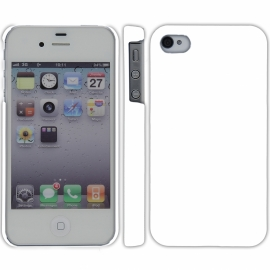 Funda Movil Back Cover HT Coby White para iPhone 4/4S