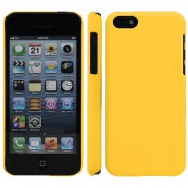 Funda Movil Back Cover HT Coby Yellow para iPhone 5C
