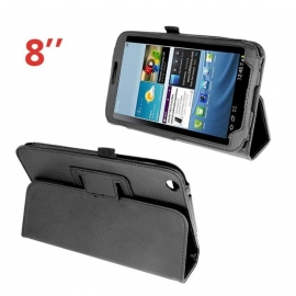 Funda Tablet HT 2P Leather Black para Samsung Galaxy TAB 3 8""