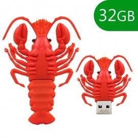 Memoria USB HT Figuras 32GB Langosta