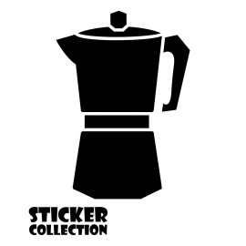 Sticker Adhesivo para Tablet HT Coffee Maker S Black