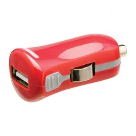 Cargador USB HT 5V 2.1A red para Coche