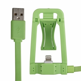 Dock HT Green + Cable Lightning