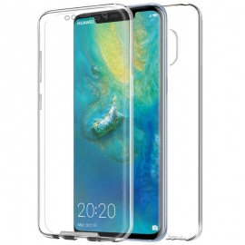 Funda Movil Back + Front Cover HT Silicona 3D Transparente para Huawei Mate 20 PRO