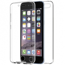 Funda Movil Back + Front Cover HT Silicona 3D Transparente para iPhone 6/6S