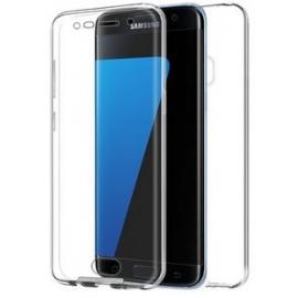 Funda Movil Back + Front Cover HT Silicona 3D Transparente para Samsung G935 Galaxy S7 Edge