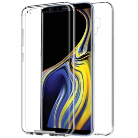 Funda Movil Back + Front Cover HT Silicona 3D Transparente para Samsung Note 9 N960