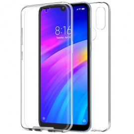 Funda Movil Back + Front Cover HT Silicona 3D Transparente para Xiaomi Redmi 7