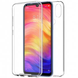 Funda Movil Back + Front Cover HT Silicona 3D Transparente para Xiaomi Redmi Note 7 / Note 7 PRO