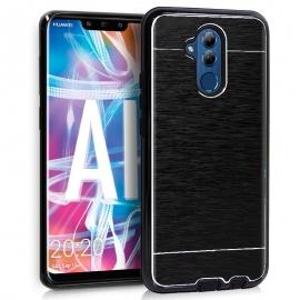 Funda Movil Back Cover HT Aluminio Black para Huawei Mate 20 Lite