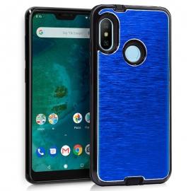 Funda Movil Back Cover HT Aluminio Blue para Xiaomi mi A2 Lite / 6 PRO