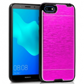 Funda Movil Back Cover HT Aluminio Pink para Huawei Y5 2018 / Honor 7S