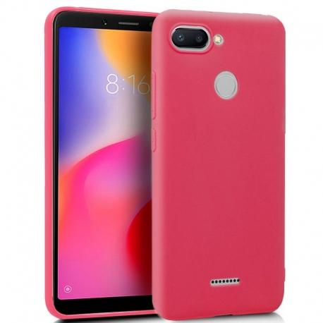 Funda Movil Back Cover HT GEL red  Xiaomi Redmi 6 / 6A