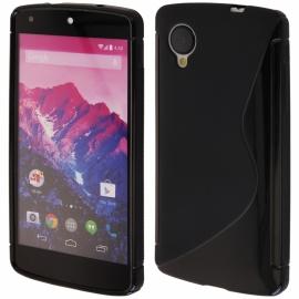 Funda Movil Back Cover HT S-CASE Solid Black para LG Nexus 5