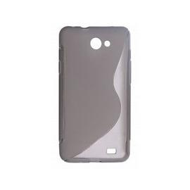 Funda Movil Back Cover HT S-CASE Solid Black Transparent para Galaxy R I9103