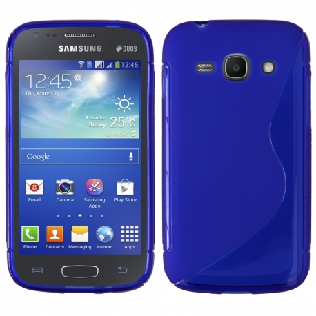 Funda Movil Back Cover HT S-CASE Solid Blue para Galaxy ACE 2 I8160