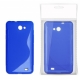 Funda Movil Back Cover HT S-CASE Solid Blue para Galaxy S Advance I9070