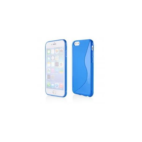 Funda Movil Back Cover HT S-CASE Solid Blue para iPhone 6/6S Plus