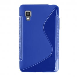 Funda Movil Back Cover HT S-CASE Solid Blue para LG L3 II E430