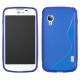 Funda Movil Back Cover HT S-CASE Solid Blue para LG L5 II Dual E455