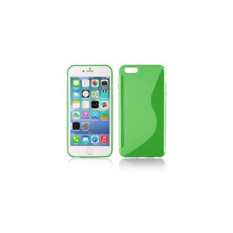 Funda Movil Back Cover HT S-CASE Solid Green para iPhone 6/6S Plus