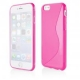 Funda Movil Back Cover HT S-CASE Solid Pink para iPhone 6/6S Plus