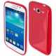 Funda Movil Back Cover HT S-CASE Solid red para Galaxy ACE 2 I8160