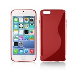 Funda Movil Back Cover HT S-CASE Solid red para iPhone 6/6S Plus