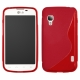 Funda Movil Back Cover HT S-CASE Solid red para LG L5 E610