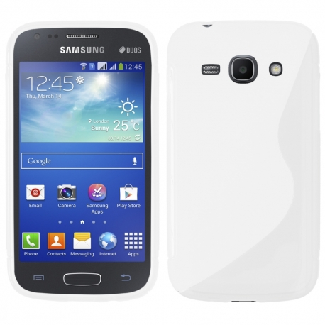 Funda Movil Back Cover HT S-CASE Solid White para Galaxy ACE Duos S6802