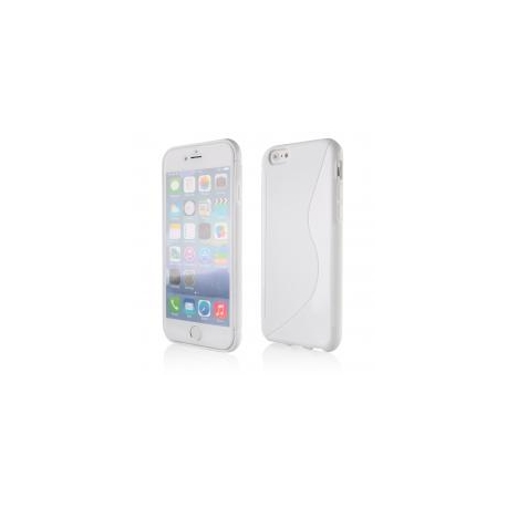 Funda Movil Back Cover HT S-CASE Solid White para iPhone 6/6S Plus