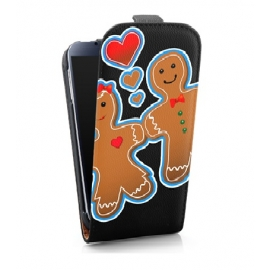 Funda Movil HT Vertical Case Printings OOH! Gingerbread para Galaxy S5 G900