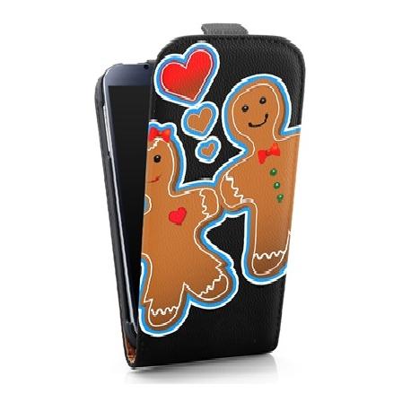Funda Movil HT Vertical Case Printings OOH! Gingerbread para Galaxy S5 G900