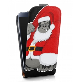 Funda Movil HT Vertical Case Printings OOH! Gorilla Noel para iPhone 4