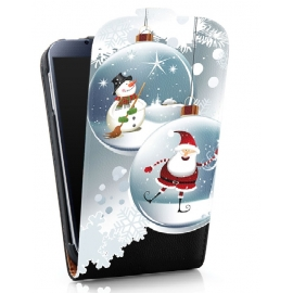Funda Movil HT Vertical Case Printings OOH! Snowball para Galaxy S5 G900